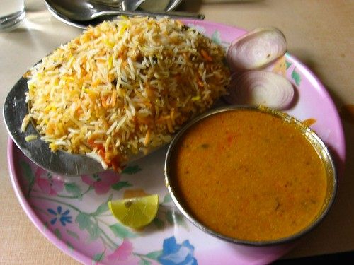 Biriyani - India. Chicken Rissoto