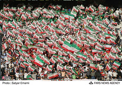 Iran qualifies to 2006 World Cup photo by iRAN Project