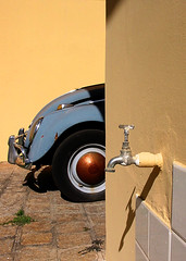 old beetle & faucet photo by Kaká