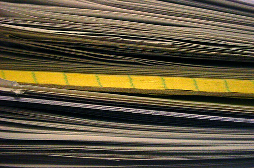 Student Papers by Idiolector on Flickr