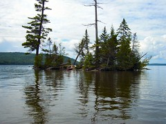 Island in Moosehead Lake photo by CQGirl