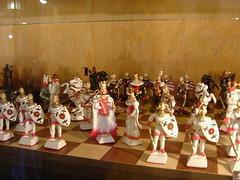 布拉格黃金小巷的小店賣的可愛西洋棋