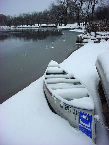 Canoe In the Snow 141