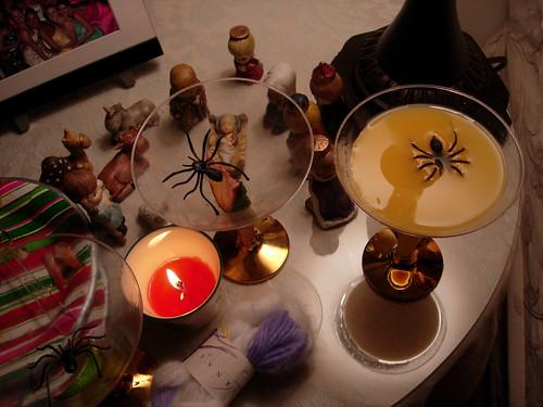nature morte avec spider