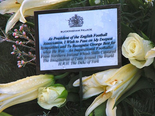 Tribute from Buckingham Palace