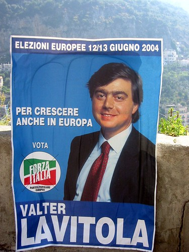 Italian election poster