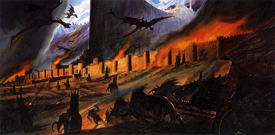 Siege from Rolozo Tolkien