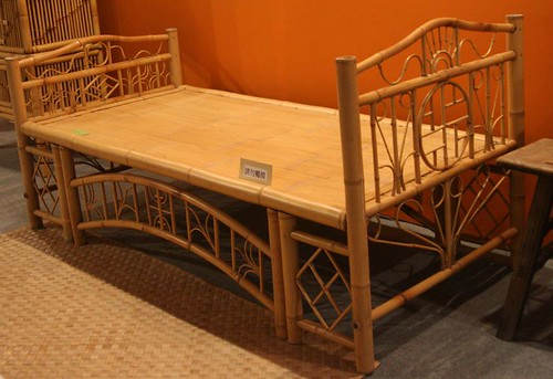 顏水龍先生設計的竹床