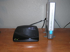 FiOS NIM and Router