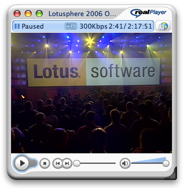 Lotusphere 2006 Keynote
