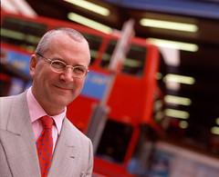 Peter Hendy London Transport's new boss looking happy - that won't last long