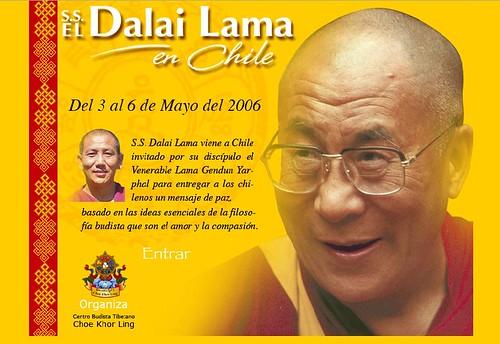 Dalai Lama en Chile