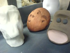 Various forms of heads