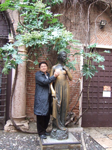 茱麗葉銅像
