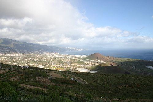 View from Mirador Don Martin. Baby volcanoes popping up...