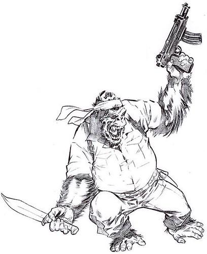 Gorilla Man 4
