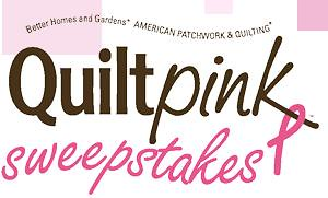 Quilt Pink Sweepstakes