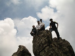 Ponmudi peak - can't reach any better