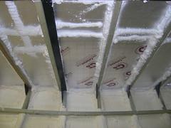 Deckhead insulation
