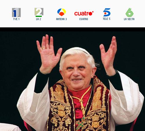 Audiencia papal, presentada por Agustín Bravo y Andoni Ferreño