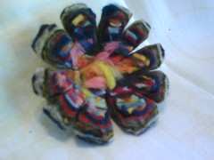 New Felted Flower