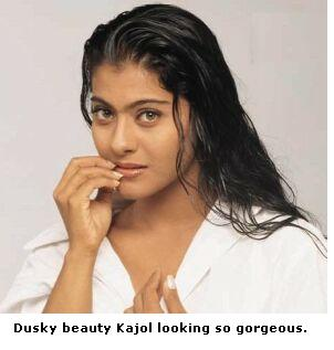 Kajol's old photo with dusky skin