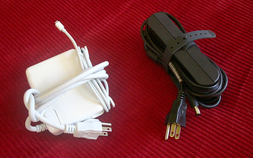 Laptop chargers compared