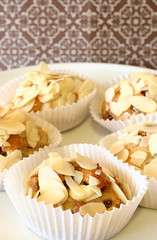 Fig Almond Honey Cakes