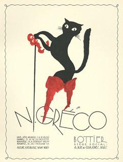 Libis (Libiszewski), Hotel Negresco ad, 1928