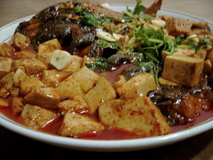 Fish with spicy tofu - Shangzhi