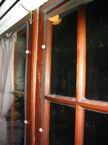 Fixer Upper Winterizing Salvaged French Doors