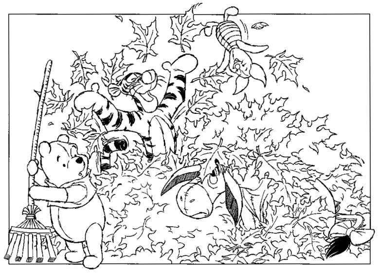 Coloring Pages Winnie The Pooh And Friends. Winnie the Pooh coloring