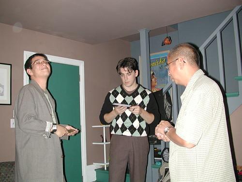 Isaac, Scotty, Jose