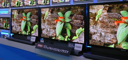 Panasonic's 103-inch Plasma TV