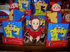 Monkey and Jack in the Boxes
