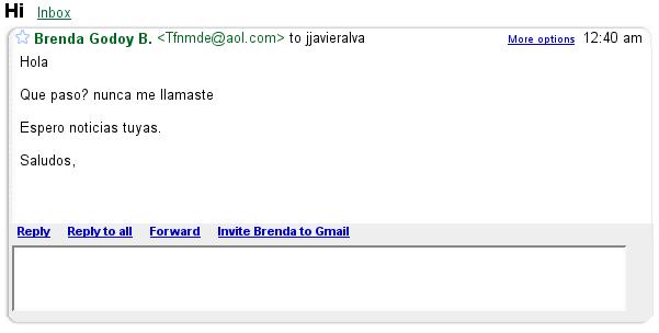 Freaky spam!