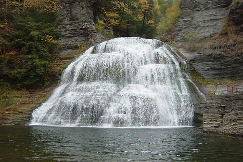 Falls, Robert Treman park, Ithaca