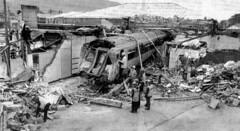Largs - Train Crash 1995 photo by edowds