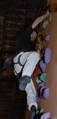 Stefan klettert