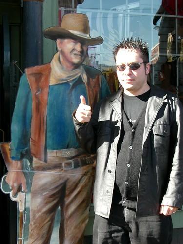 Phillip and John Wayne