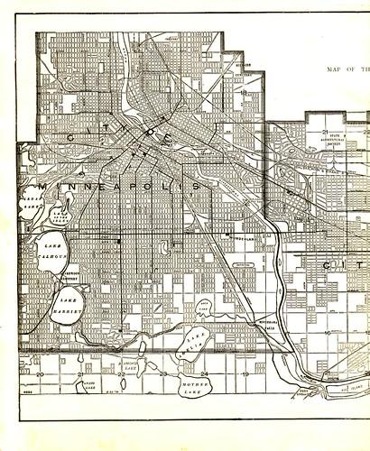1923 Mpls Map