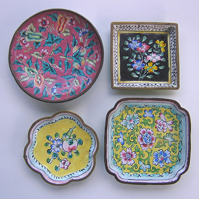 enamel dishes
