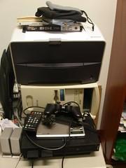 computer + printer