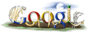 Google Halloween 2006 Search Engine Logos