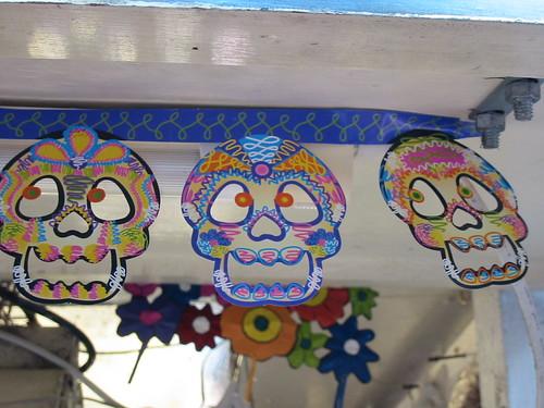 sugar skull flags!