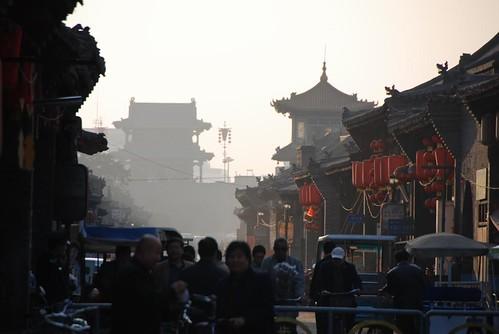 Ping Yao, busy street