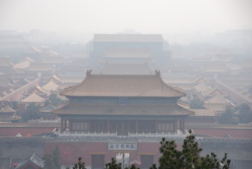 Polluted Air over The Forbidden City