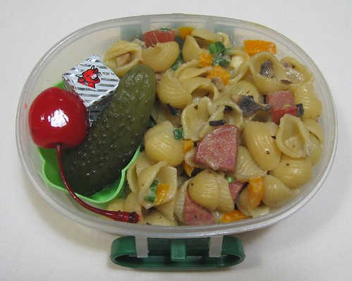 Pasta snack for toddler お弁当