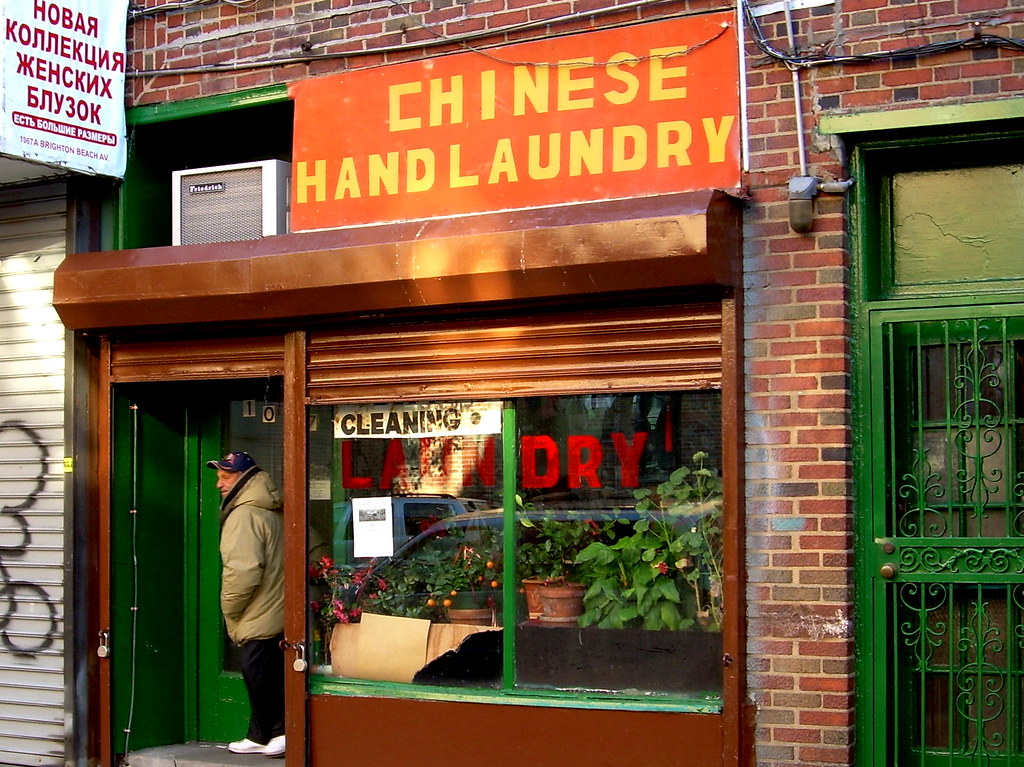 hand laundry, brighton beach