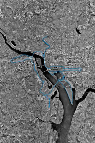 2006 MCM GPS Plot